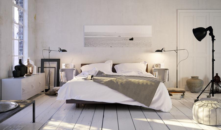 Faire le bon choix de couleurs pour une chambre zen et accueillante homebyme - Choix des couleurs pour une chambre ...