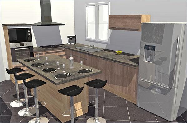 quelle est votre cuisine pr f r e homebyme. Black Bedroom Furniture Sets. Home Design Ideas