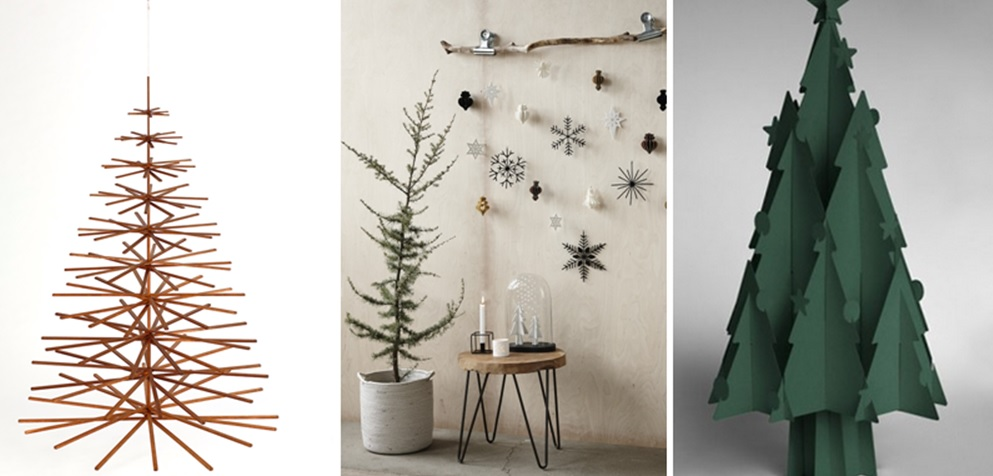 Christmas time how to cheer up your home homebyme for Minimalist christmas tree