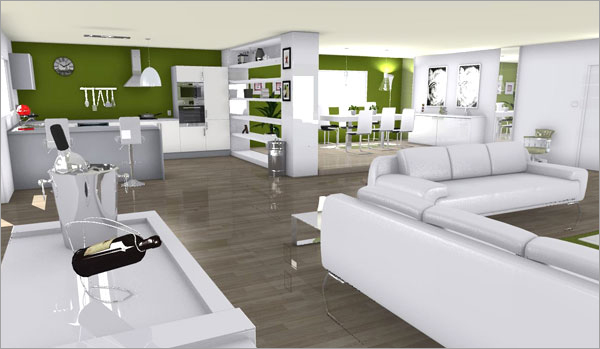 les meilleurs projets 3d de 2014 homebyme. Black Bedroom Furniture Sets. Home Design Ideas