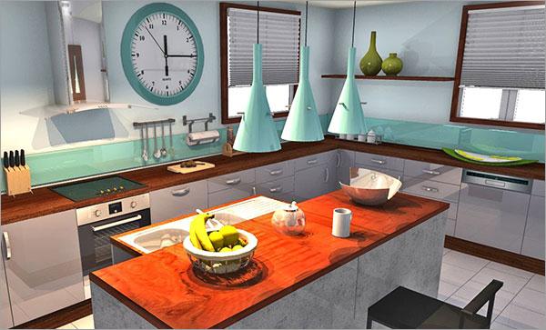 10 great homebyme kitchen designs homebyme. Black Bedroom Furniture Sets. Home Design Ideas