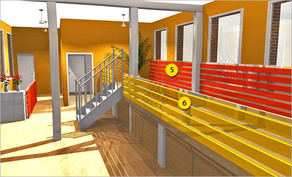 comment cr er un loft ou une mezzanine homebyme. Black Bedroom Furniture Sets. Home Design Ideas