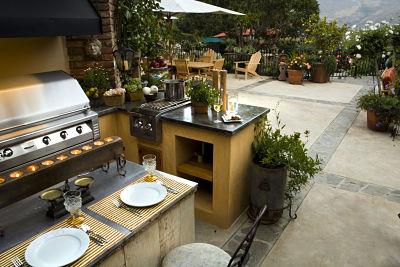 am nager un coin cuisine ext rieure les bons choix homebyme. Black Bedroom Furniture Sets. Home Design Ideas