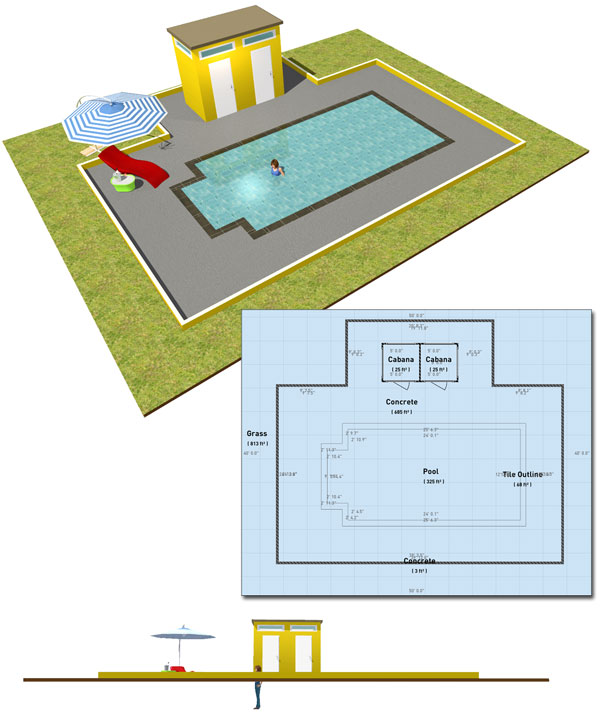 How To Make A Swimming Pool Using HomeByMe