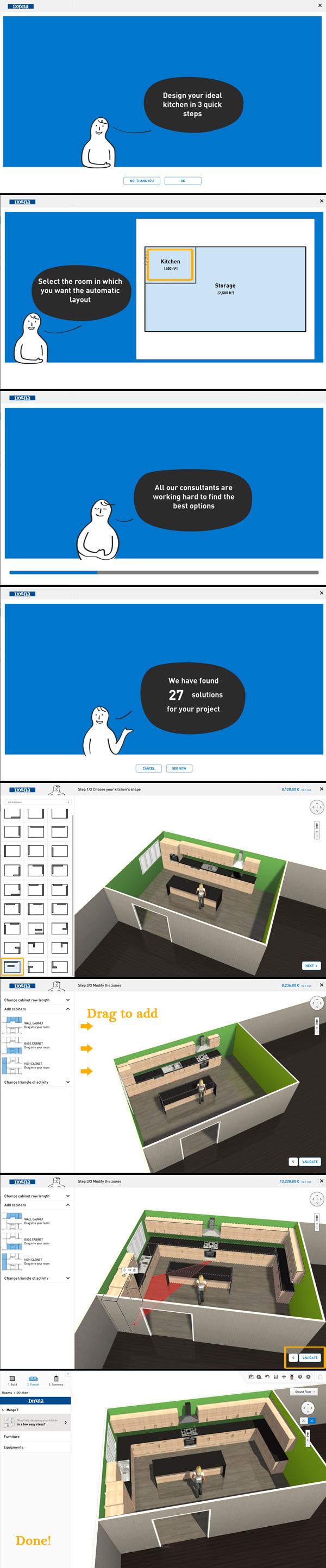 Personnaliser votre cuisine en 3d homebyme for Configurateur cuisine 3d gratuit
