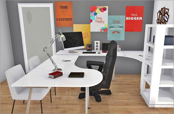 Arbeiten im Home Office: 55 Ideen für ein Wohlfühlambiente ...