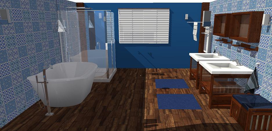 Am nager une salle de bain ouverte homebyme - Creer une salle de bain en 3d gratuit ...