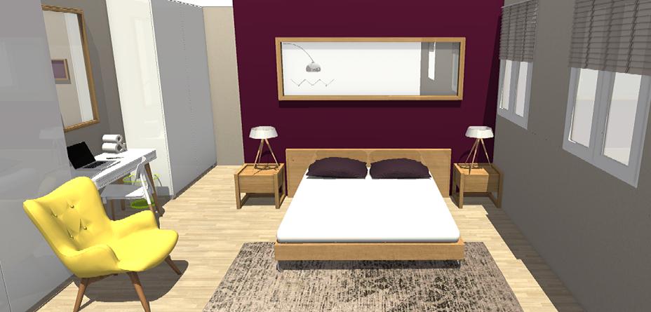 une chambre zen et accueillante homebyme. Black Bedroom Furniture Sets. Home Design Ideas