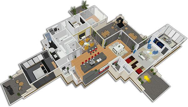 Homebyme vous aide à faire de vos idées d'aménagements une réalité 3D